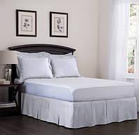 Спідниця для ліжка Біла Модель 5 строгий Мodern, фото 1