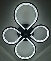 Люстра потолочная Led (13х57х73 см.) Матовый черный YR-2288/22-bk, фото 1