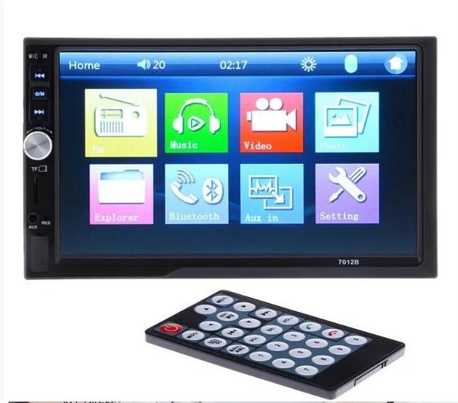 """Магнітола сенсорна 2DIN Car mp5 Player 7012B екран 7"""""""
