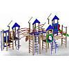 """Игровой комплекс """"Крепость друзей"""" 1,2 м для улицы на детскую площадку"""
