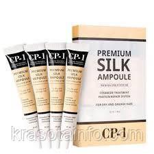 Жидкий шелк и протеин Сыворотка для волос без смывания Esthetic House CP-1 Premium Silk Ampoule, 20 мл, 1 шт