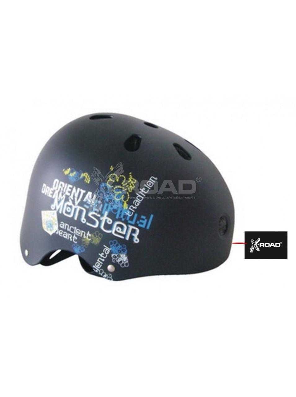 Шолом захисний для ролерів , скейтерів. сноубордистів X-ROAD PW 902-221