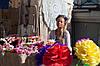 Цветы из гофрированной бумаги, фото 3