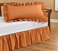 Подзор на кровать Рюши Модель 1 Медовый  90Х200/30