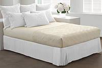 Спідниця для ліжка Біла Модель 7 строгий Мodern 200*200/30