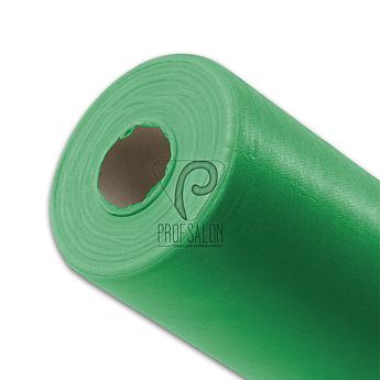 Одноразовые простыни в рулонах 0,6х100 метров плотные 25 г/м2, медицинские, для индустрии красоты м'ятные
