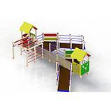 """Детская игровая площадка """"Улыбка"""" для детей с ОФВ, фото 3"""