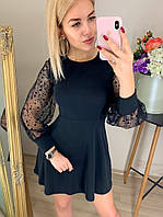 Платье трикотаж в расветках