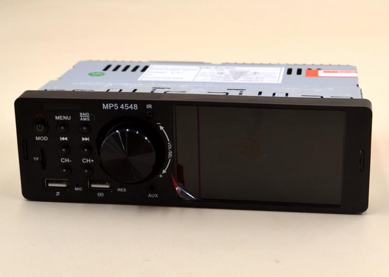"""Автомагнитола MP5 4548 USB с возможностью зарядки 4"""" экран с Bluetooth"""