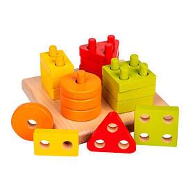 Деревянные игрушки Smart child