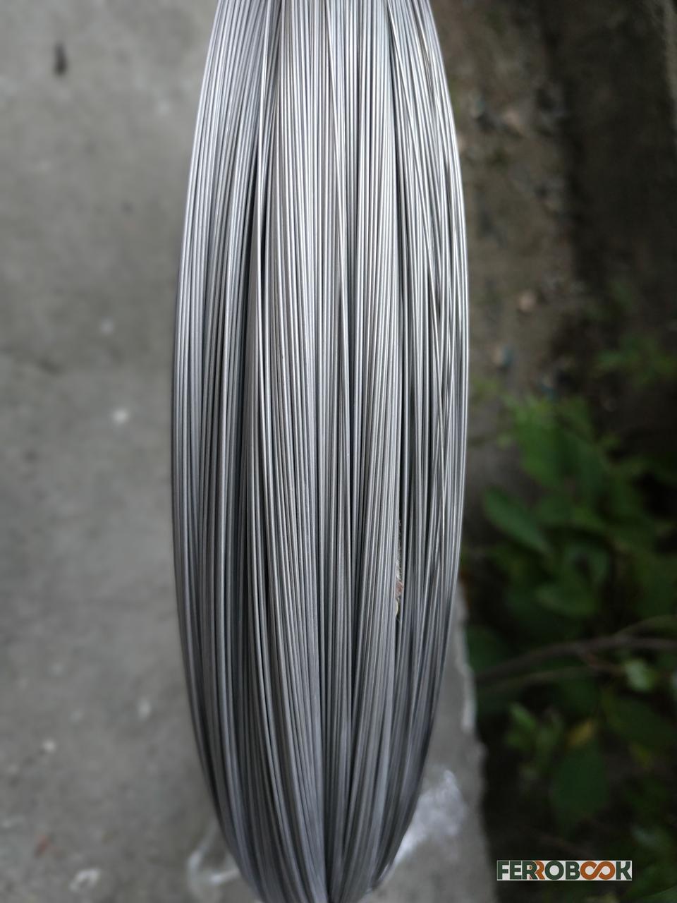AISI 302 1мм - 75м пружинний дріт нержавіюча