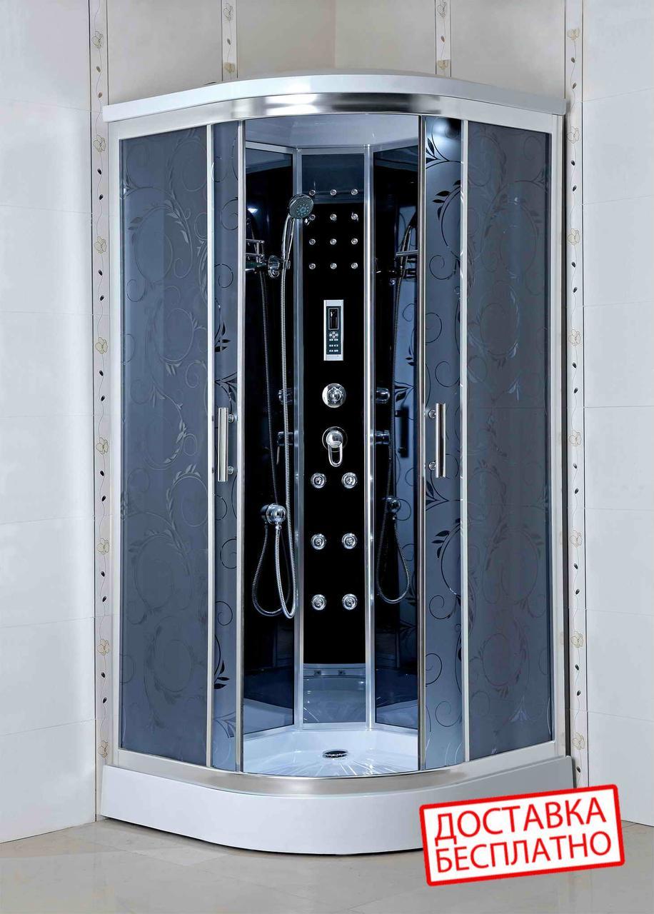 Гидромассажный бокс  90х90 Santeh 4404-07 (стекло Assol)