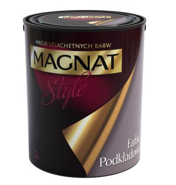 Грунтовочная краска (под декоративные штукатурки) Magnat Style, 1л, Пол