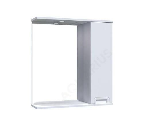 Зеркало  Аквариус SIMPLI со шкафчиком и подсветкой 65 см, фото 2