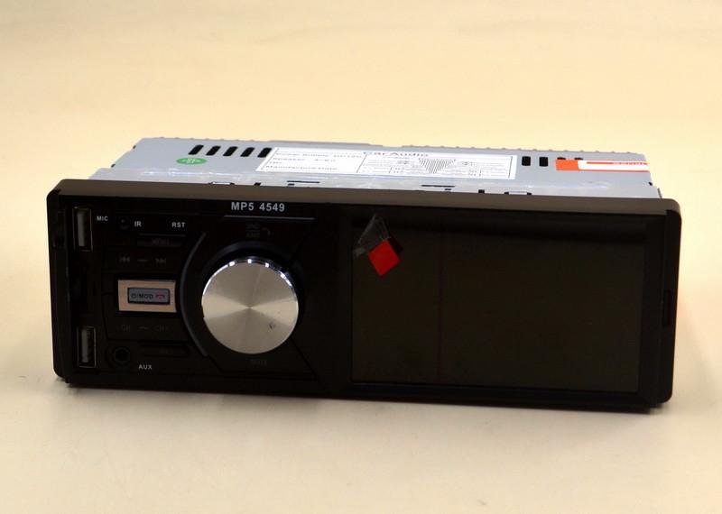 """Автомагнитола с дисплеем 4"""" Pioneer 4022D пульт на руль Bluetooth"""