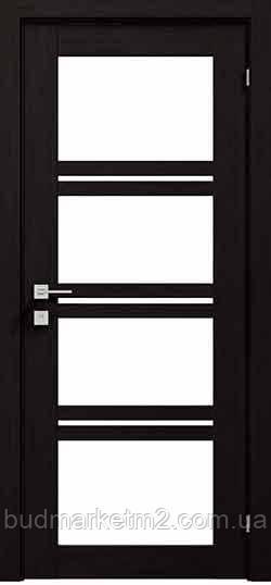 Міжкімнатні двері Rodos Modern Quadro, зі склом