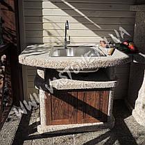 Стол-мойка «Сицилия» с дверцами, фото 2