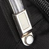 Городской рюкзак SWISS Gear Bag 8810 Black стальная ручка., фото 6