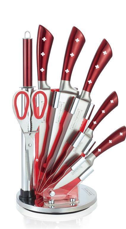 Набір ножів Royalty Line RL-KSS820 7pcs