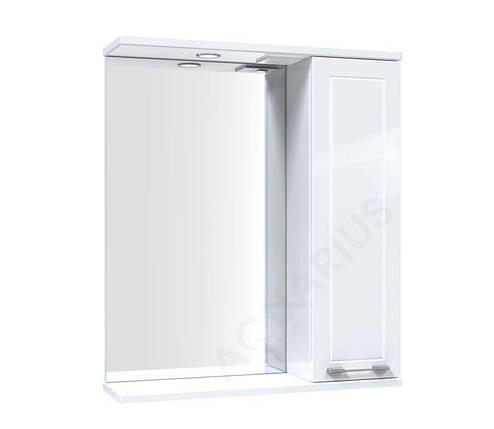 Зеркало Аквариус Elegance со шкафчиком и подсветкой 60 см, фото 2