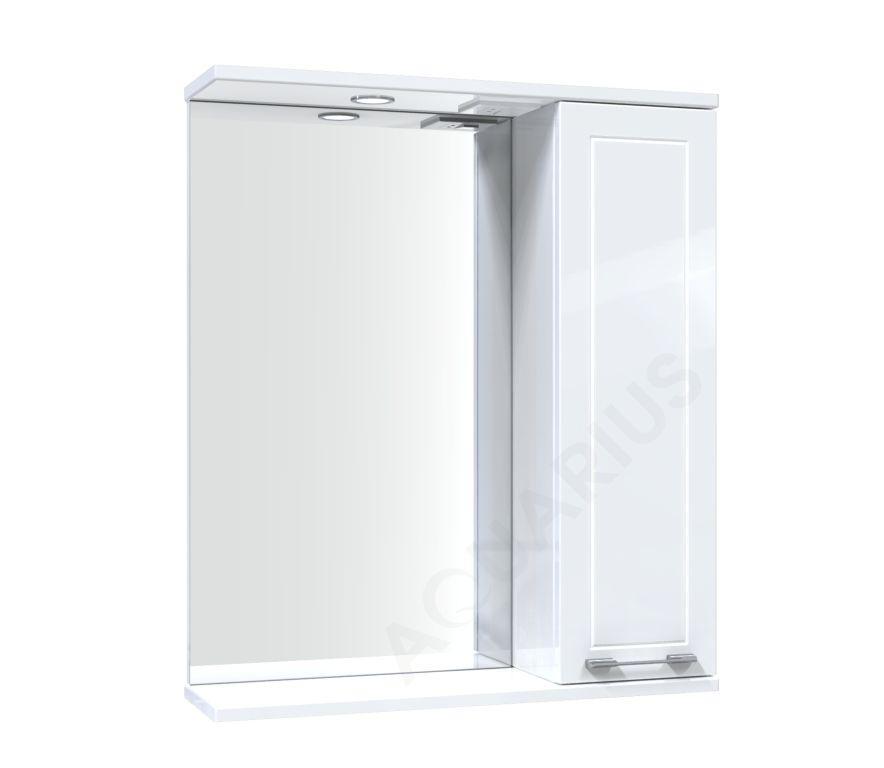 Зеркало Аквариус Elegance со шкафчиком и подсветкой 60 см