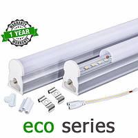 Светодиодный светильник LED Т5 интегрированный 18-22Вт 2700-3000К/4000-4500К/6000-6500К 1200 мм серия ECO