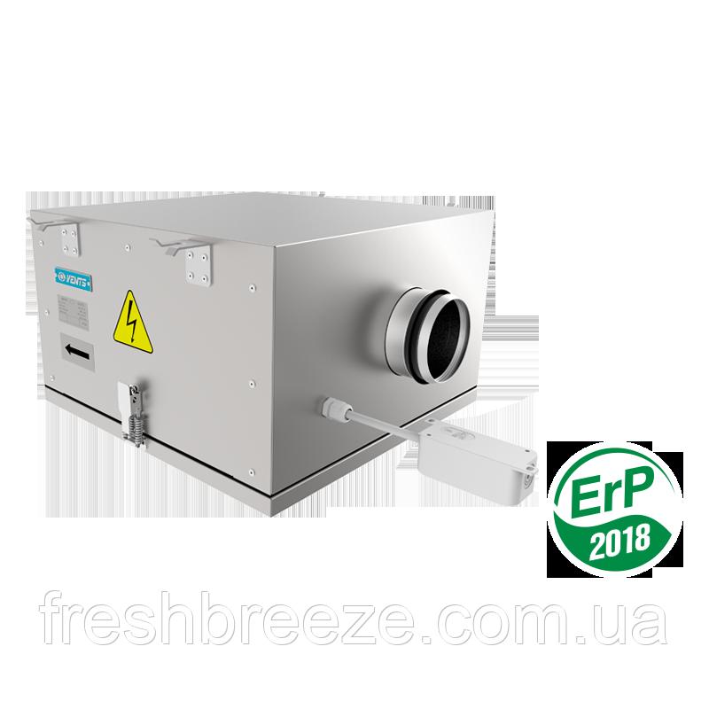 Вентилятор в звукоизолированном и теплоизолированном корпусе вентс vents  КСБ 125 К2