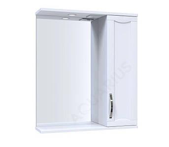 Зеркало Аквариус Lofty со шкафчиком и подсветкой 60 см