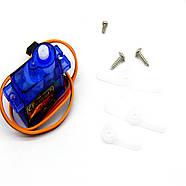 Сервопривод Arduino SG 90 (Micro Servo motor) 2кг, фото 2