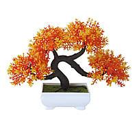 Штучна композиція Бонсай дерево (помаранч)