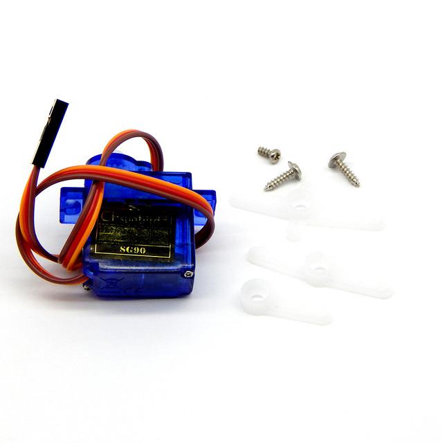 Серво привод Arduino SG90