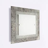 Светильник Фантазия 40460 2*Е27 d400 серебро квадрат