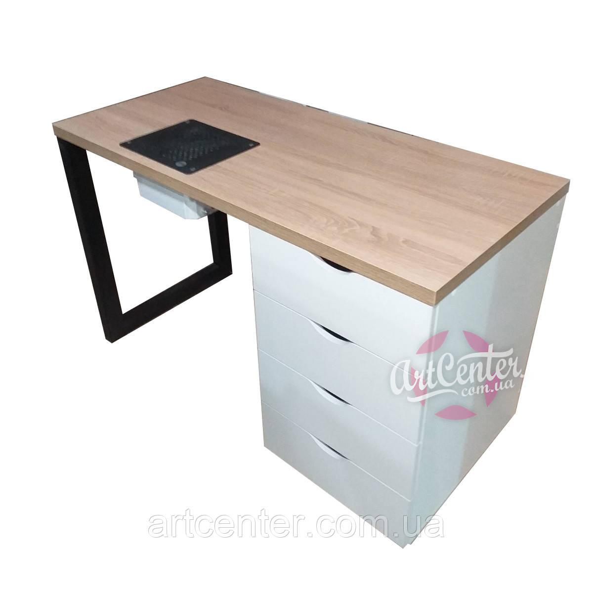Стол для мастера маникюра, маникююрный стол современного дизайна