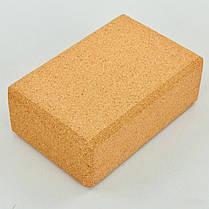 Блок для йоги корковий FI-0831