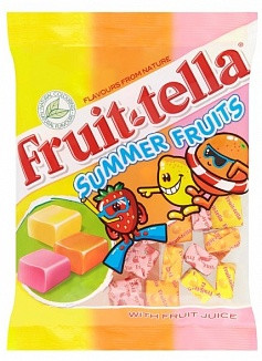 Fruitella Summer Fruit Bag, 135g