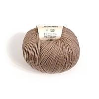Пряжа Gazzal Baby Wool 835 (Газзал Беби Вул) Шерсть Акрил Коричневый