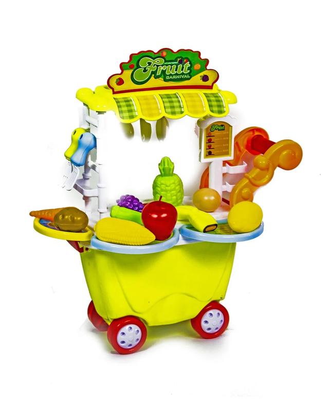 Детская тележка-кухня Фрукты