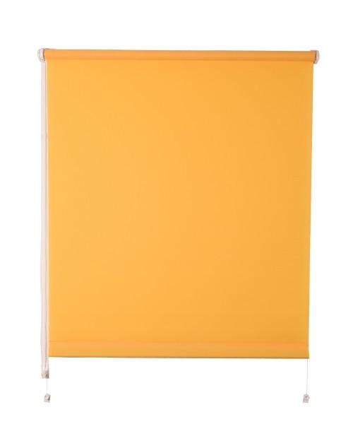 Рулонная штора De zon Leen Mini 77х150 см желто-оранжевая