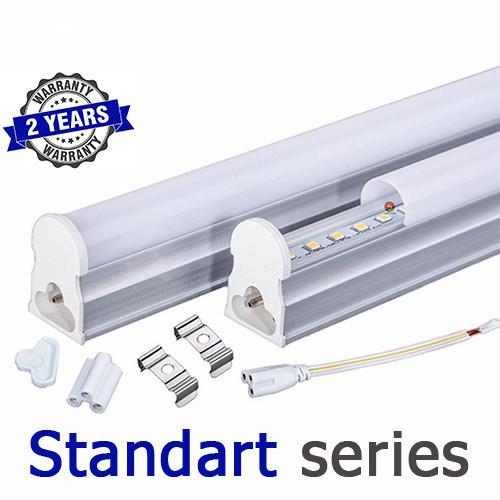 Светодиодный светильник LED Т5 интегрированный 14-16Вт 2700-3000К/4000-4500К/6000-6500К 900 мм серия STANDART