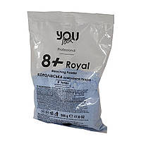 Осветляющая пудра You Look Professional 8+ Royal синяя 500 г