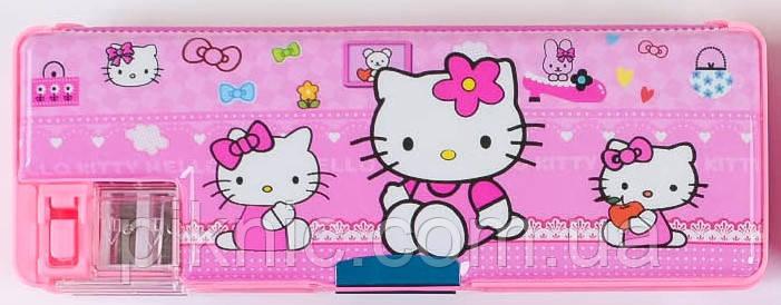 Пенал Hello Kitty для девочек.