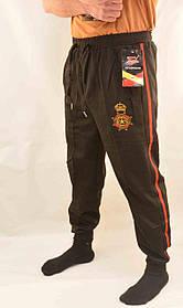 Брюки спортивные мужские под манжет с лампасой XL - 5XL  Штаны в рубчик Ao longcom