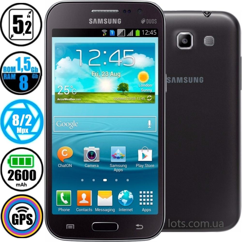 Смартфон Samsung Galaxy Win Duos I8552 Grey (Оригинал) + Подарок Защитное Стекло