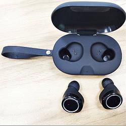Беспроводные Bluetooth наушники с зарядным кейсом Gorsun V7 Black
