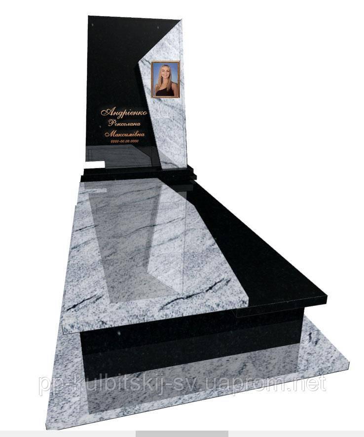 Пам'ятник з білого граніту Р 5062