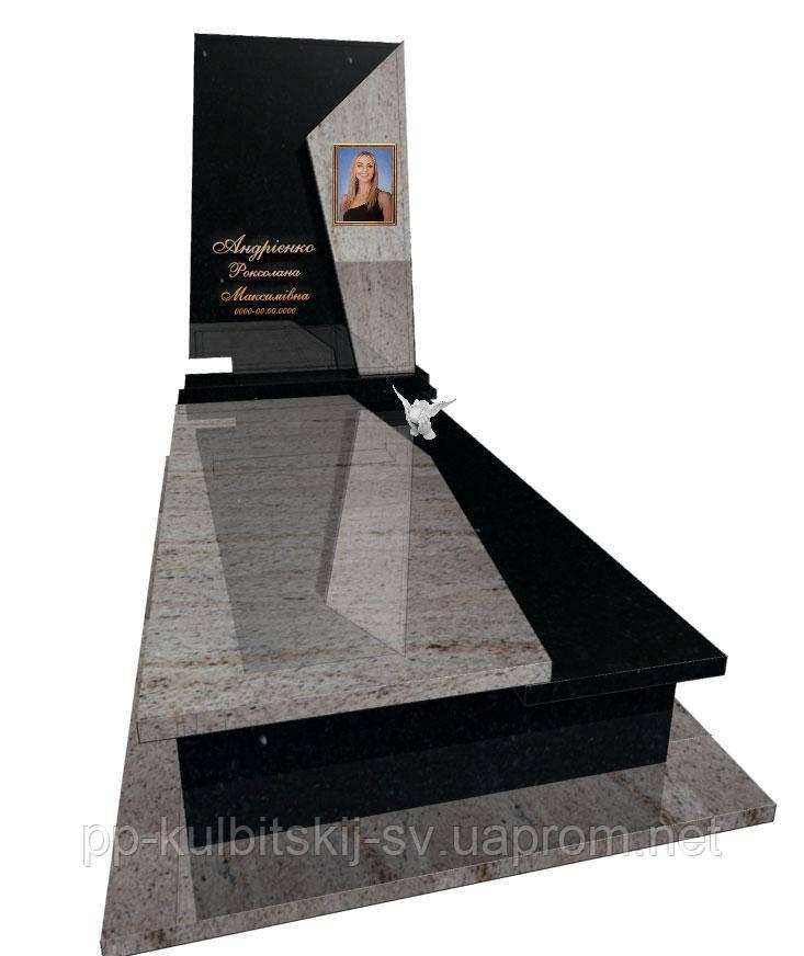 Пам'ятник гранітний Елітний одинарний Р 5064