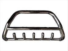 Защита переднего бампера (кенгурятник)  Opel Movano 1998-2009