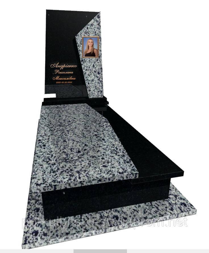 Пам'ятник надгробний Елітний одинарний Р5066