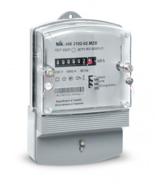 Счетчик однофазный НИК 2102 электромеханический