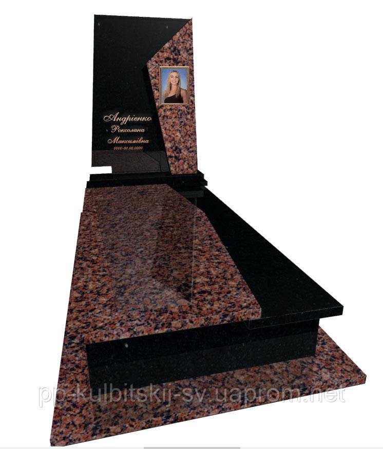 Пам'ятник з граніту одинарний Р5011